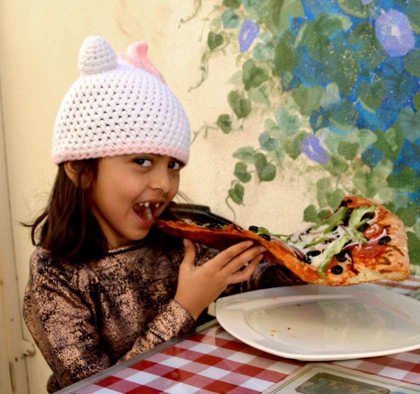 Casa D'Oro Giant Pizza Slice